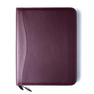 Burgundy Lambskin Cover