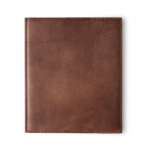 Natural Cowhide Flex Spiral Bound Book Cover - Personal Size