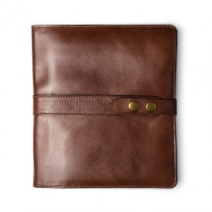 Natural Cowhide Flex Spiral Bound Cover - Personal Size