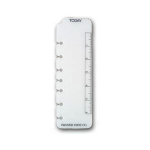 Daymarker Ruler (7 hole punch) - Executive Size