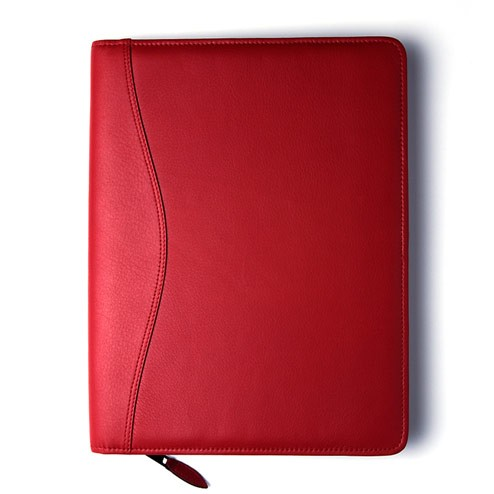 Red Cowhide Cover