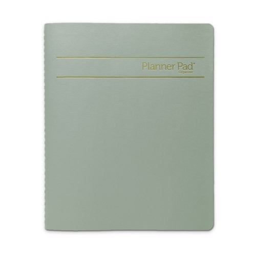 Jan 2015 - Dec 2015 Spiral Bound Organizer - Executive Size - Green Ink