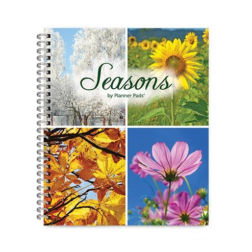 Jan 2015 - Dec 2015 Seasons - Spiral Bound Organizer - Personal Size