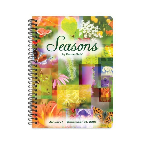Seasons Compact Planner Jan2016-Dec 2016