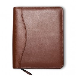 """Lifestyle"" Leather Spiral Bound Cover - Personal Size"