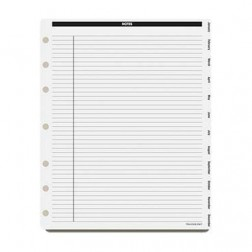Loose Leaf Monthly Tab Dividers - Executive Size