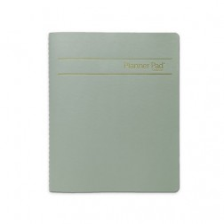 Oct. 2017-Sept. 2018 Personal Spiral Bound Traditional - Green Ink