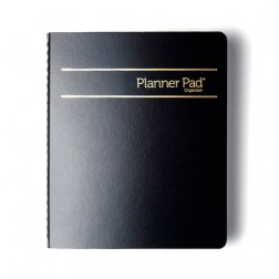 Oct. 2017-Sept. 2018 Personal Spiral Bound Traditional - Black Ink