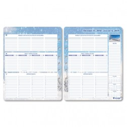 2019 Seasons - Loose Leaf Organizer - Personal Size