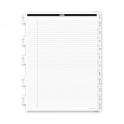 Spiral Bound Monthly Tab Dividers - Executive Size