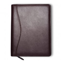 """Lifestyle"" Leather Loose-Leaf 7 Ring Cover - Executive Size"