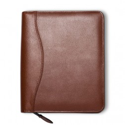 """Lifestyle"" Leather Loose-Leaf 7 Ring Cover - Personal Size"